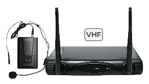 RADIOMICROFONO AD ARCHETTO VHF (SET 6080LAV-C)