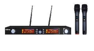 RADIOMICROFONO DOPPIO PALMARE UHF (SET 7822) DOPPIO 740790 MHZ