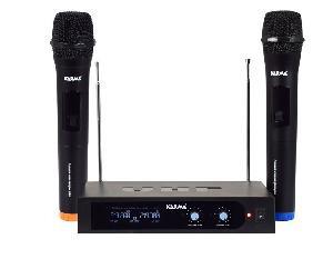 RADIOMICROFONO DOPPIO PALMARE VHF (SET 6252B)