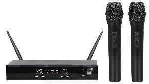 RADIOMICROFONO PALMARE DOPPIO UHF (SET 5002)