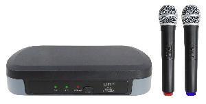 RADIOMICROFONO PALMARE DOPPIO UHF (SET 7302)