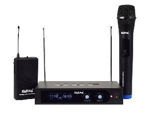 RADIOMICROFONO VHF PALMARE + ARCHETTO (SET 6252PL-A)