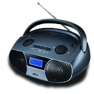 RADIO FM PORTATILE CD106BT (AKAICD10BT)