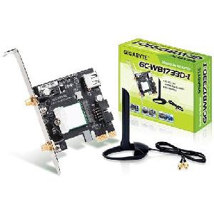 SCHEDA DI RETE CONTROLLER WIRELESS+BLUETOOTH GC-WB1733D-I PCI-E