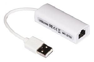 SCHEDA DI RETE USBRJ45 USB 2.0 (LKCONV07)