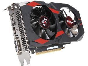 SCHEDA VIDEO GEFORCE CERBERUS GTX1050 2 OC 2 GB PCI-E (CERBERUS-GTX1050-O2G)