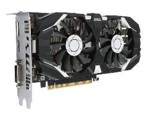 SCHEDA VIDEO GEFORCE GTX1050TI 4GT OC 4 GB PCI-E (V809-2277R)