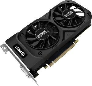 SCHEDA VIDEO GEFORCE GTX1050TI DUAL OC 4GB PCI-E (NE5105TS18G1D)