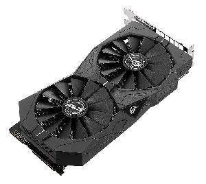 SCHEDA VIDEO GEFORCE GTX1050 TI ROG STRIX 4 GB PCI-E (STRIX-GTX1050TI-4G-GAMING)