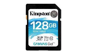 SECURE DIGITAL 128 GB CANVAS GO CLASS10 UHS-1 U3 (SDG128GB)