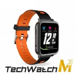 SMARTWATCH TECHWATCHM3-OR NERO ARANCIONE