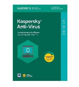 SOFTWARE ANTIVIRUS 2018 3 CLNT (KL1171T5CFS-8SLIM)