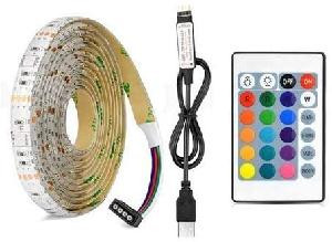 STRISCIA LED STRIP 5050RGB USB LIGHT RGB 5 MT