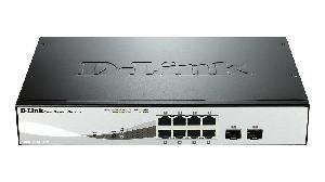 SWITCH RETE 8 PORTE SMART 101001000 DGS-1210-08P POE