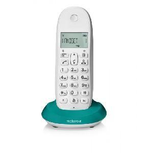 TELEFONO CORDLESS C1001LT (92490) TURCHESE