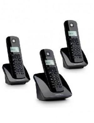 TELEFONO CORDLESS C403EB TRIO NERO