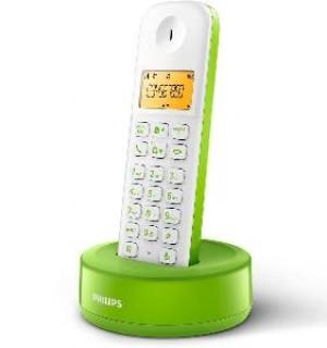 TELEFONO CORDLESS D1301WN23 BIANCOVERDE