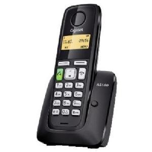 TELEFONO CORDLESS GIGASET AS160 NERO (S30852H2411K121)