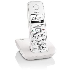 TELEFONO CORDLESS GIGASET AS405 BIANCO (S30852H2501K102)
