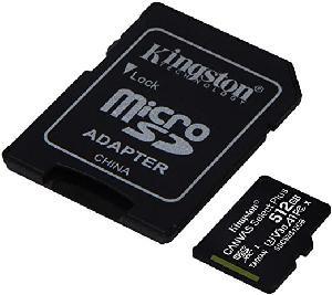 TRANS FLASH 512 GB CANVAS SELECT PLUS (SDCS2512GB) CLASS 10