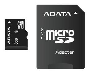 TRANS FLASH 8 GB (AUSDH8GCL4-RA1)