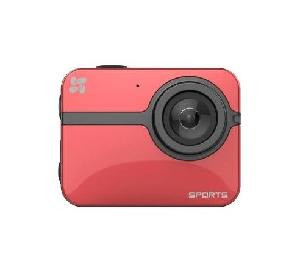 VIDEOCAMERA DIGITALE S1 ACTION CAMERA RED FULL HD ROSSA