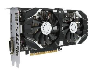(OUTLET) SCHEDA VIDEO GEFORCE GTX1050TI 4GT OC 4 GB PCI-E (V809-2277R)