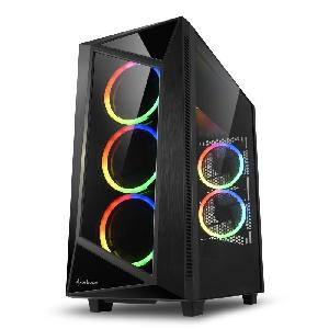 (RICONDIZIONATO) CASE REV200 RGB ATX VETRO TEMPERATO