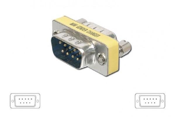 ADATTATORE MINI SERIALE 9 PIN M-M (00422)