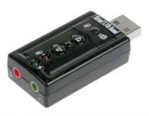 ADATTATORE USB-AUDIO CON CONTROLLO VOLUME (LK70777)