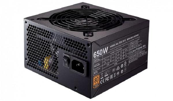 ALIMENTATORE MWE BRONZE 650 WATT (MPX-6501-ACAAB-EU) 80 PLUS