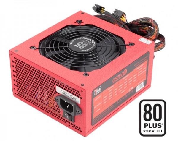 ALIMENTATORE REDBOX SM 650 WATT (ITPSRBSM650) SEMI MODULARE 80 PLUS