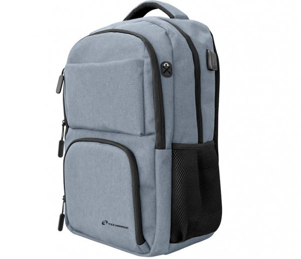 BORSA ZAINO PER NOTEBOOK 15 TECHBAG-O-GRAY GRIGIO