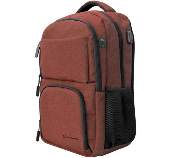BORSA ZAINO PER NOTEBOOK 15 TECHBAG-O-RED ROSSO