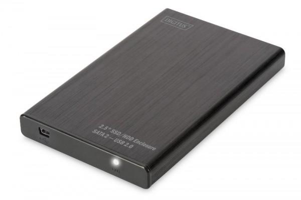 BOX ESTERNO PER HD 2,5 SATA USB 2.0 (DA71104) NERO