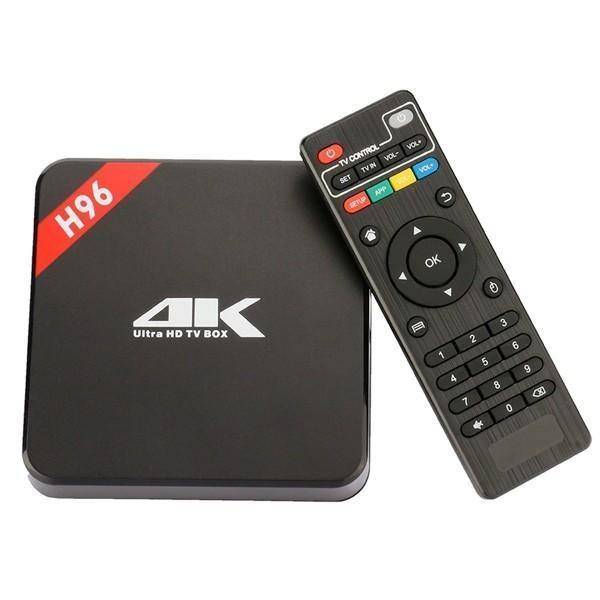 BOX SMART TV MEDIAPLAYER H96 2GB RAM 16GB ROM 4K