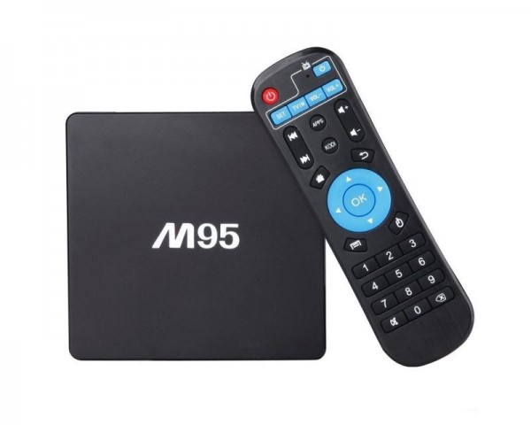 BOX SMART TV MEDIAPLAYER M95 2GB RAM 8  GB ROM