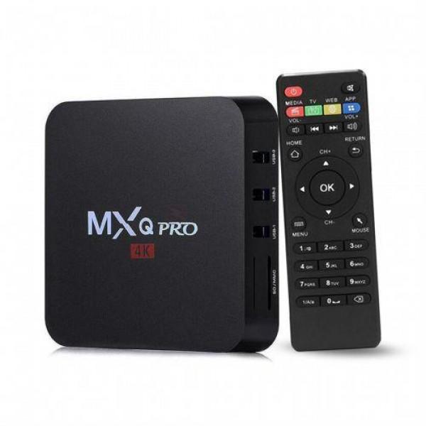 BOX SMART TV MEDIAPLAYER MXQ PRO 2GB RAM 32GB ROM 4K