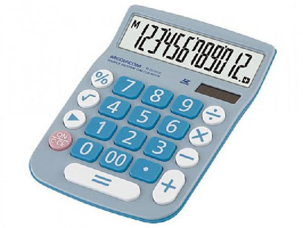 CALCOLATRICE 12 DIGITS DESKTOP DC2645C