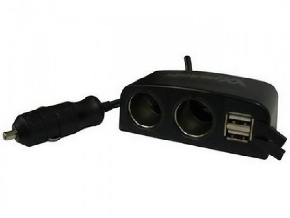 CARICATORE AUTOCASA 2 USB (ME-USBC2U2)