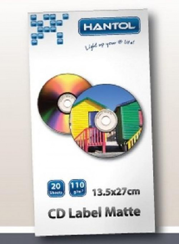 CARTA FOTOGRAFICA A4 110 GRAMMI CD LABEL (HPA4LCD110)