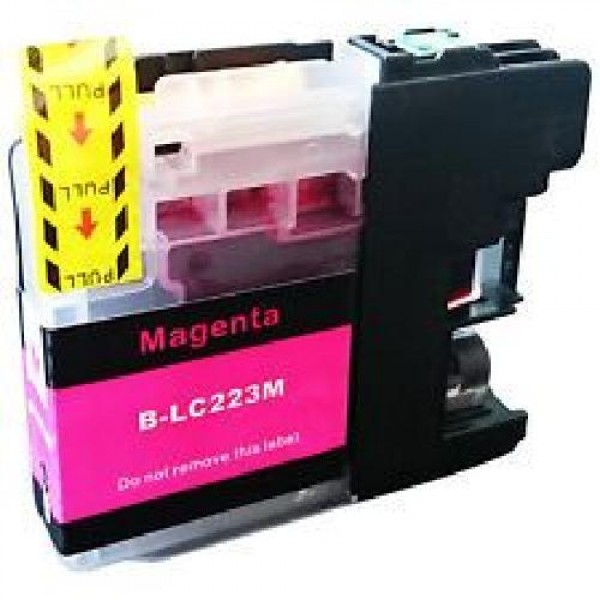 CARTUCCIA COMPATIBILE BROTHER LC223-M MAGENTA