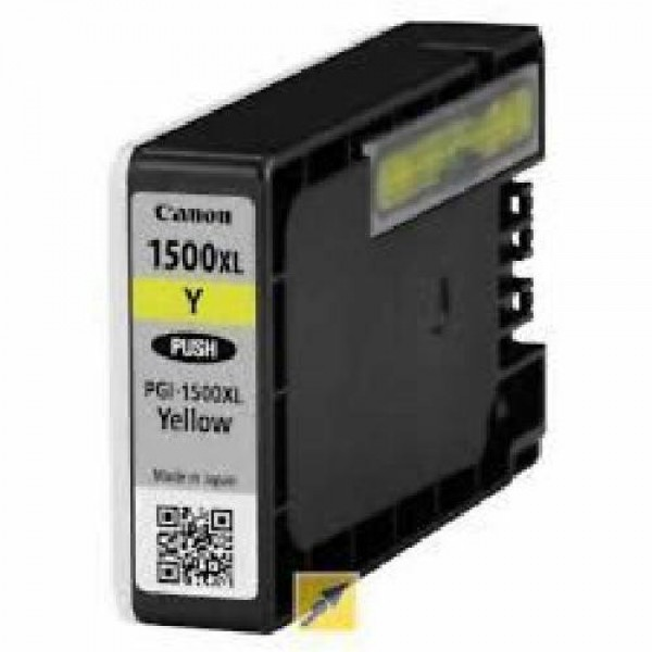 CARTUCCIA COMPATIBILE CANON PGI 1500 YELLOW