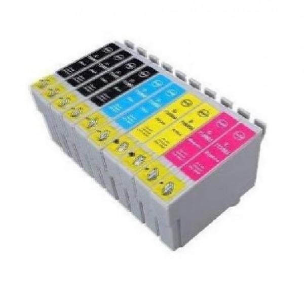 CARTUCCIA COMPATIBILE EPSON MULTIPACK T01815 (4BK-2C-2M-2Y)