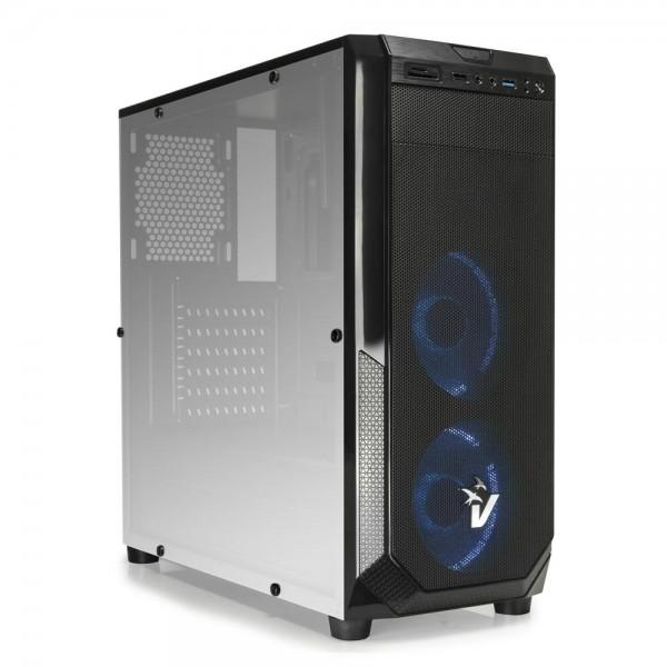 CASE GAMING BLACKDOOM GS-0485BL - VENTOLE BLU - NO ALIMENTATORE