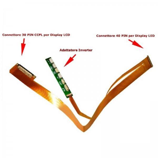 CAVO FLAT CONVERTER DISPLAY 15.6 40pin LED TO 30pin LCD CCFL