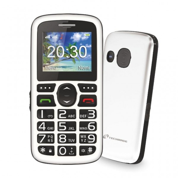 CELLULARE BIG BUTTON SENIOR (TM-C08WH) DUAL SIM