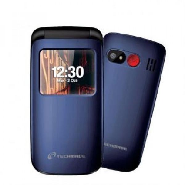 CELLULARE SENIOR FLIP PHONE (T40-BL) BLU DUAL SIM