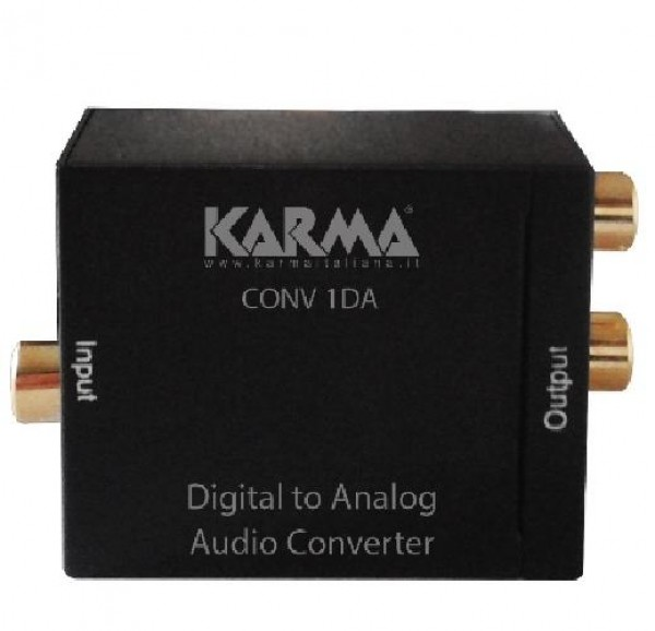 CONVERTITORE AUDIO DIGITALE - ANALOGICO (CONV 1DA)