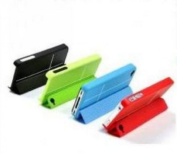 COVER MAGNETICA PER IPHONE 5 ROSSO POWER-X (TEL-46143)